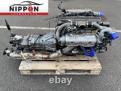1992 JDM TOYOTA SUPRA JZA70 1JZ-GTE NON VVTI ENGINE With R154 5 SPEED TRANSMISSION