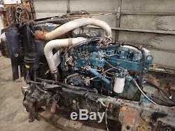 1995 International DT466 Turbo Diesel Engine VIDEO! NGD! P PUMP FRAMECUT
