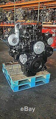 1998 CUMMINS N14 CELECT PLUS DIESEL ENGINE with JAKES BRAKES CPL 2591 RED TOP