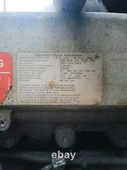 2003 Mbe4000 OM-460 NON EGR Complete Engine