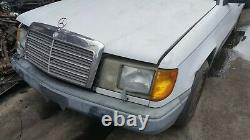 87 MERCEDES W124 DIESEL LIFT OUT ENGINE WithTrans from 300TD SEE DESCRIPTION