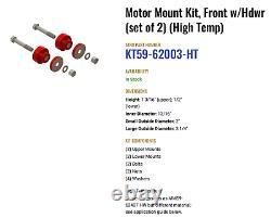 Atro KT59-62003-HT Poly Polyurethane Front Motor Mount Kit Kenworth T600 W900