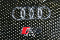 Audi RS4 8E B7 4.2 V8 FSI Carbon Engine Cover Inlet Manifold