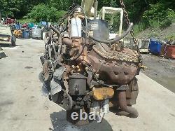 CAT 3208 Diesel Engine RUNS GOOD! VIDEO! Ford Truck V636 210 HP V8 Caterpillar