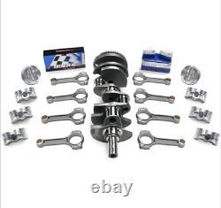 CHRYSLER 360-408 BAL. SCAT STROKER KIT Hypereutectic(Dish)Pist, I-Beam Rods