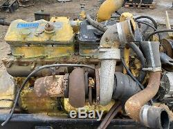 Caterpillar 3406B Engine 400HP With Jake Brakes GOOD RUNNER with Video