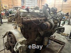 Caterpillar 3406B Turbo Diesel Engine GOOD RUNNER! Truck CAT 3406 14.6