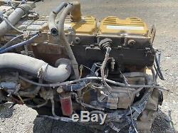 Caterpillar 3406E Engine 5EK Running Takeout Read Description CAT