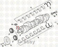 Crankshaft for a Cummins N14. PAI # 171719 Ref. # 3053368, 3064291 Crank Shaft