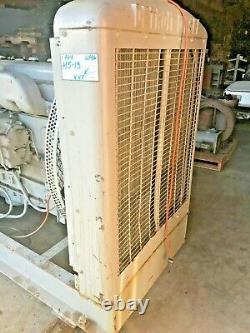 Detroit Diesel 6-110 Model 62306-RD couple to a GE Marine generator