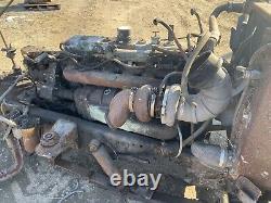 Detroit Diesel 6-71t Engine GOOD TESTED RUNNER! 6L71 Turbo In-Line 6 Cylinder