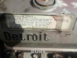 Detroit Diesel 8V92TA Turbo Diesel Engine RUNS EXC. LOW MILES! DDEC! 8V92 V8 GM