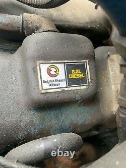 Detroit Diesel 8.2L Engine Ford Truck GMC 8.2 V8! Only 56,385 Miles