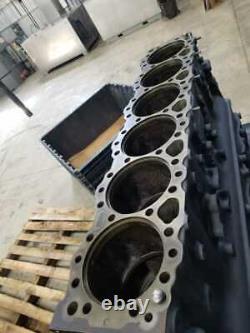 Detroit Diesel Series 60 DDEC V 14.0L Engine Block 23527205 (501-11248)