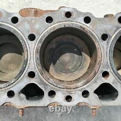Detroit Series 60 12.7L Engine / Cylinder Block / Crankshaft P/N 23527205
