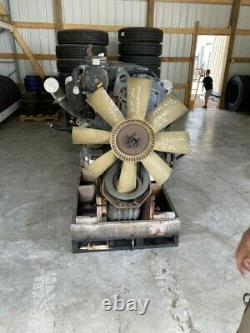 Detroit Series 60 12.7 L Diesel Engine Good Running Engine With ECM DDEC 3