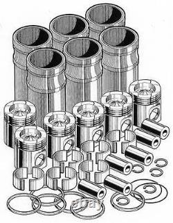 Detroit Series 60 Inframe Engine Overhaul Rebuild Kit PAI # S60106C-001 In Frame