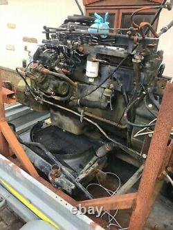 Diesel cummins, 5.9 engine, non turbo with gearbox