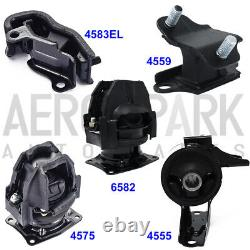 For 05-06 Honda Odyssey 3.5L Touring / EX-L Engine Motor & Trans Mount Set 5PCS