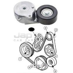 For Nissan Serena C25 2.0i MR20DE 05-10 Fan Belt Tensioner Idler Adjuster Pulley