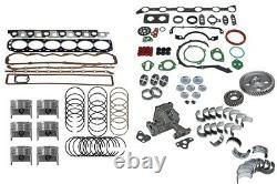 Ford Fits 300/4.9 Truck 68-85 Engine Rebuild Kit Premium