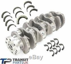 Ford Transit Mk6 Mk7 Mk8 2.0 2.2 2.4 Crankshaft + Big End Shells + Main Bearings