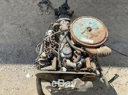 ISUZU C223 Diesel Engine with Manual Transmission Running Takeout 2 Available