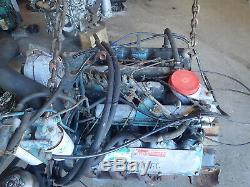 International 9.0 L V8 Diesel Engine RUNS EXC LOW MILES! Navistar IH Truck 9L