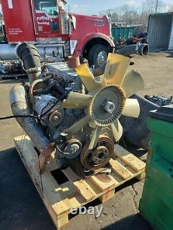 International Dt 466 E Ht A230 Engine Assembly Takeout