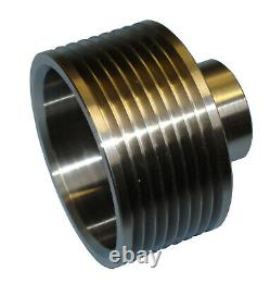 Jaguar S-Type R 4.2 Supercharger Upper Pulley 10% 2.5lb Upgrade stainless steel