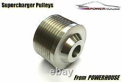 Jaguar XFR 5.0 7.5% Supercharger Upper Pulley Performance Upgrade 2009 2010 11+