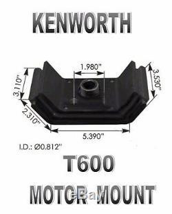 Kenworth T600 Motor Mount Kit (REAR) SET OF TWO #K066-377 #K066-42