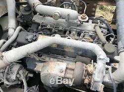 NISSAN Diesel TD42ti Engine GOOD RUNNER! 6 Cylinder 4.2L Nissan UD Cabover