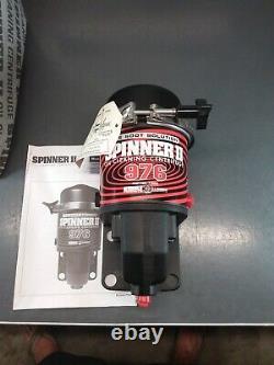 NOS SPINNER II 73200 Oil Centrifuge Filter System Model 976. The Soot Solution