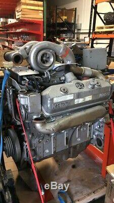 Silver Detroit Diesel Engine 8V92