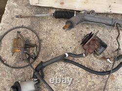 Transit MK 3 MK 4 MK 5 Power Steering Kit Rack Pump Pipes Bolts Diesel Only